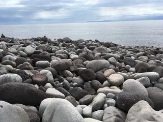 大瀬神社の海岸