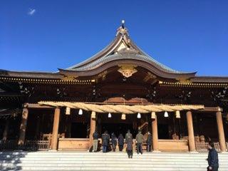 寒川神社御社殿