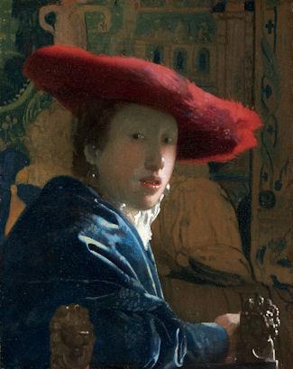 《赤い帽子の娘》