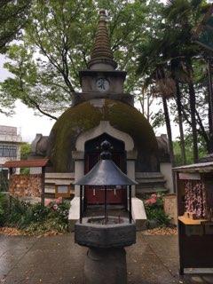 上野大仏パゴダ薬師堂
