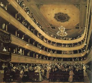 《旧ブルク劇場の観客席》