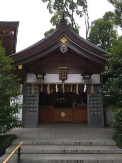 寒川神社の納札殿
