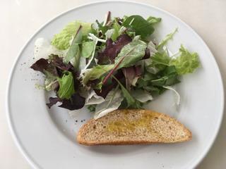 ココ・ファーム・ワイナリーのサラダ