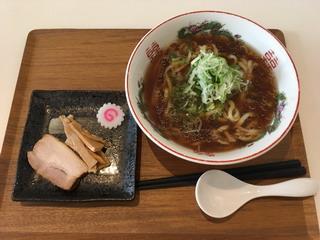 青竹打ち麺作り体験でできた麺