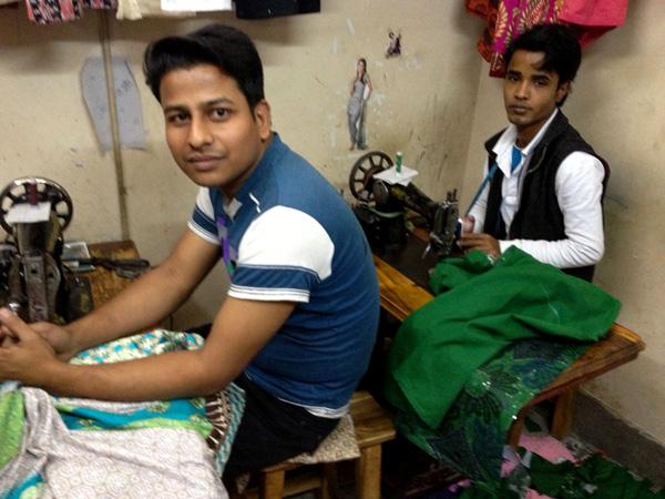 バングラデシュ ミシン