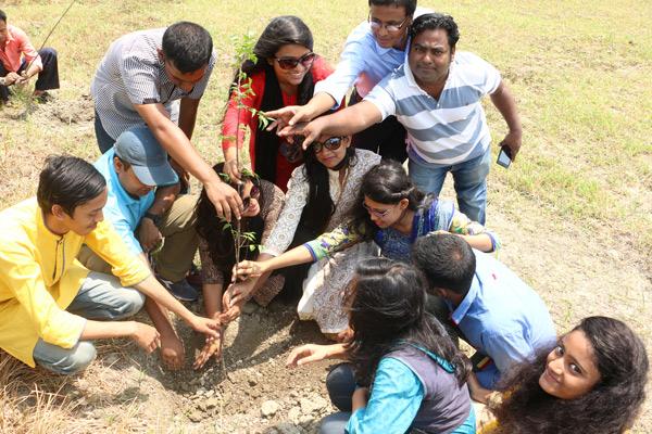バングラデシュ 植樹