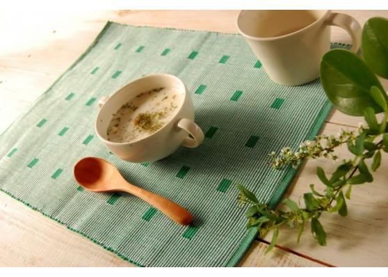 手織りコットンランチョンマット【Sat.Ranjee】