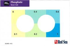 MCP リン酸塩テストキットのハイレンジ測定について。