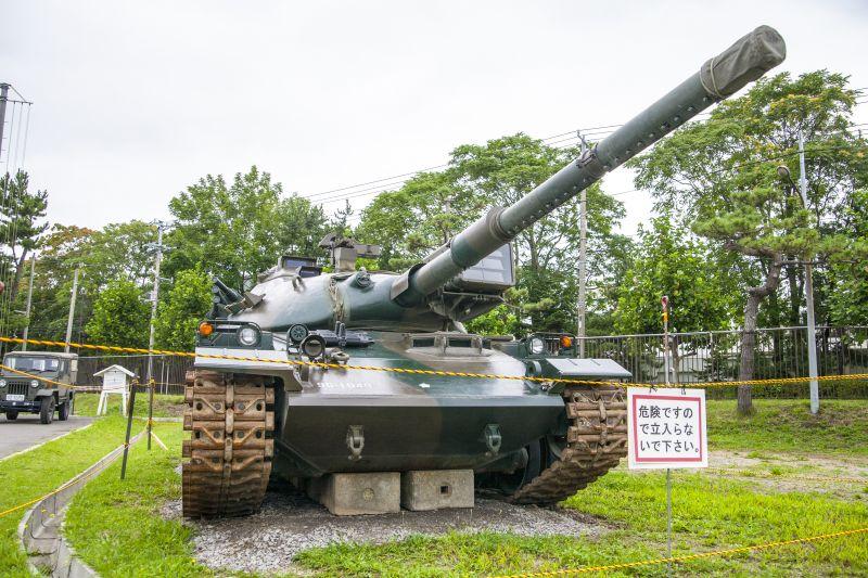 陸上自衛隊函館駐屯地創立64周辺...