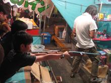 桐生祭り屋台のカタヌキ
