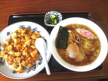 桐生市マーボ丼