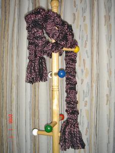 手編みのマフラー H18.2.10