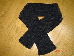 手編みのマフラー6 H18.2.17