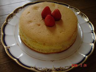 イチゴのケーキ2006.2.27-2
