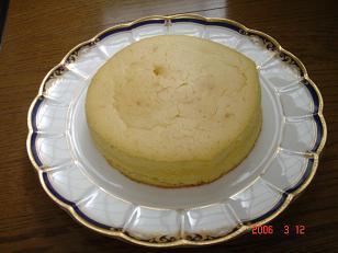 チーズケーキ2002.3.12