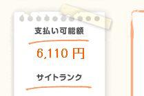 6000円