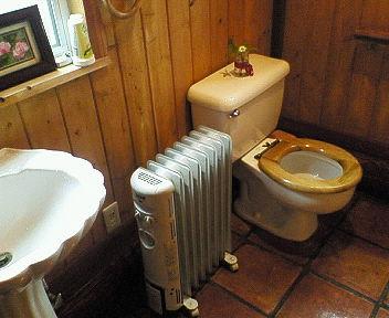 トイレもきれいでした。