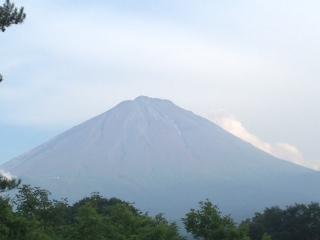 麓から見た富士山