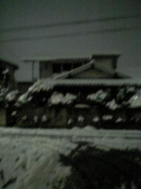 2006.2.21東京初めての積雪(近所)