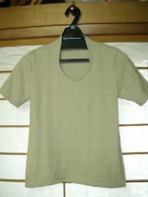 オーバル開きTシャツ
