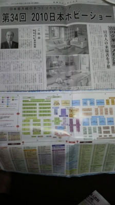ホビーショー(ミシン新聞)