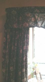 昔作ったカーテン