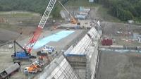 建設中の当別ダム