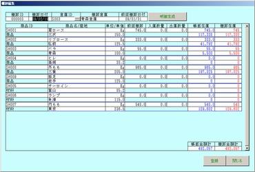 在庫管理システム パッケージソフト
