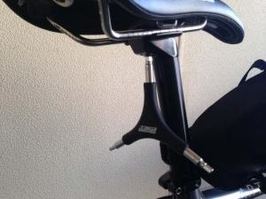 PWT自転車工具セット+ワイヤーカッターのY形六角レンチでサドルを調整