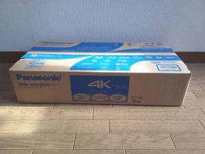 パナソニック・全自動DIGA・DMR-BRX2020の箱