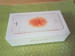 中古のドコモ版iPhoneSE(64GB)