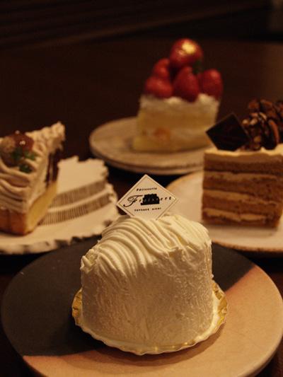 ケーキ4種類
