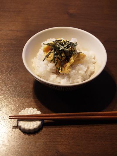 ウニ風ご飯
