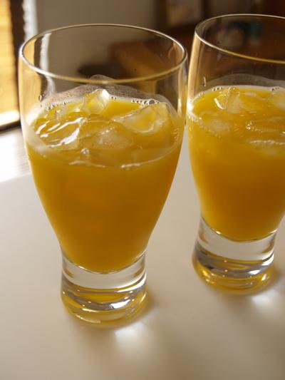 オレンジジュース01