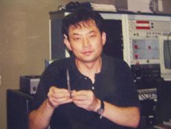 持田さんです。とてもシャイな人です。