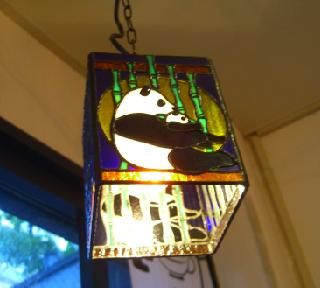 パンダ ランプ