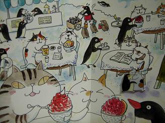 吉沢深雪さんデザインのネコ