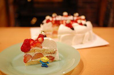 キルフェボンのショートケーキ!