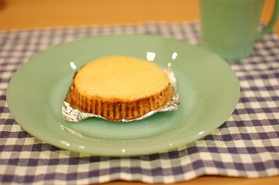 チーズケーキうまっ!