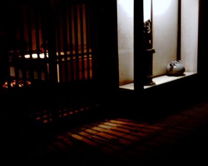 夜の奈良町 あしびの郷
