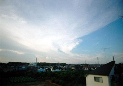 青空byワイドレンズカメラ