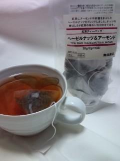 ヘーゼルナッツ&アーモンド紅茶