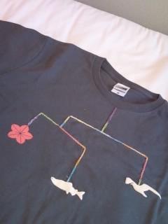 大槌復興モビールTシャツ 表