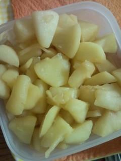 リンゴと塩麹