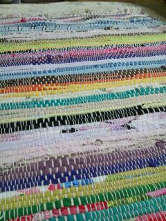 織り織りのうたプロジェクトヨーガマット 虹