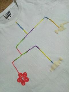 大槌復興刺し子Tシャツ