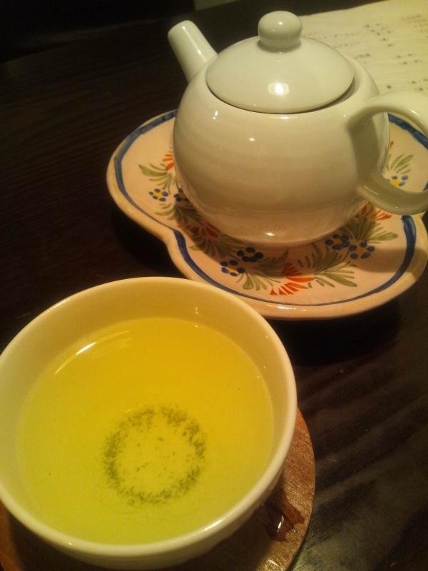 きっさこ・緑茶