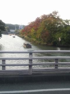 松江・堀川舟