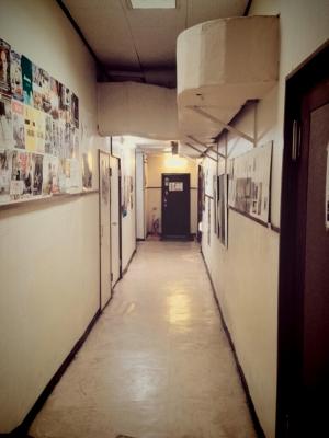 川越スカラ座の廊下