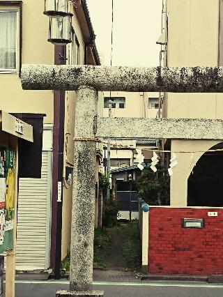 川越・鴉山稲荷神社の参道